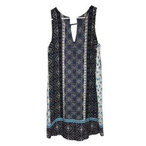 NWT StitchFix Renee C Blue Patterned Dress